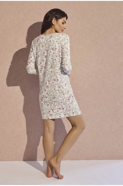 LONG SLEEVED NIGHTGOWN