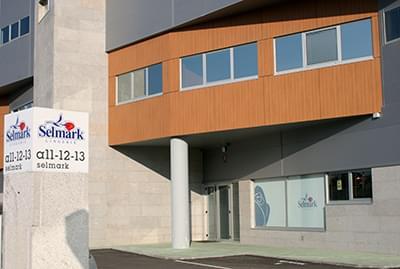 Fábrica de Selmark en el año 2000.
